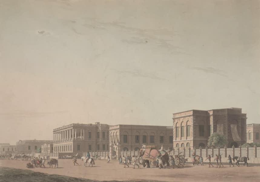 Oriental Scenery Vol. 2 - The Council House, Calcutta (1797)