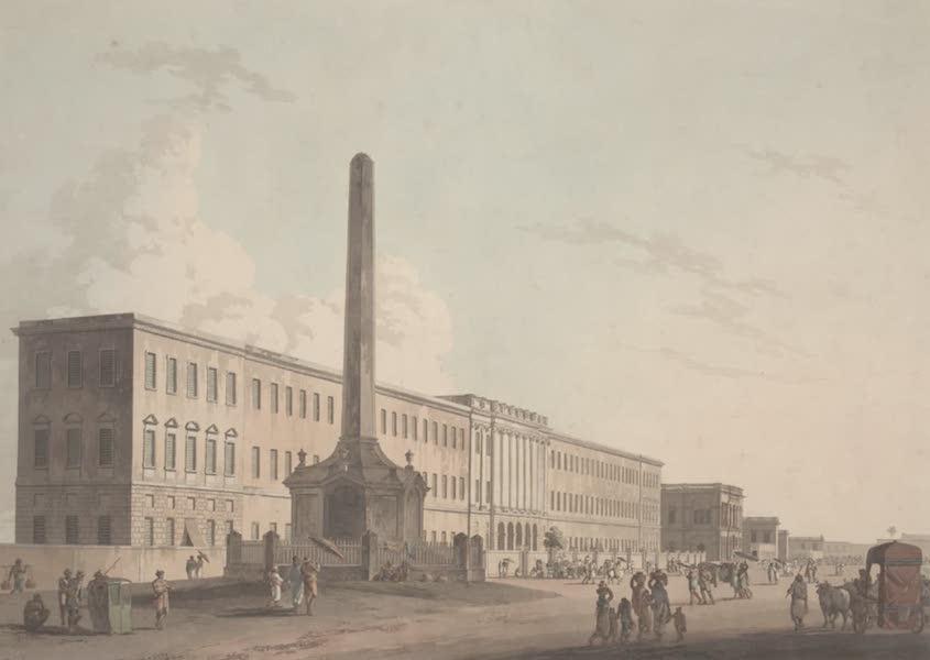 Oriental Scenery Vol. 2 - The Writer's Buildings, Calcutta (1797)