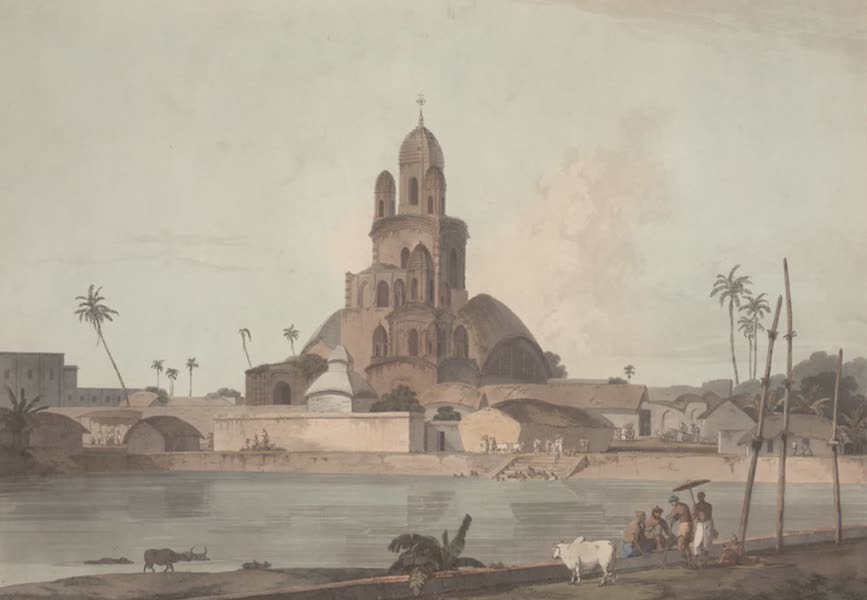 Oriental Scenery Vol. 2 - Govinda Ram Mittee's Pagoda, Calcutta (1797)