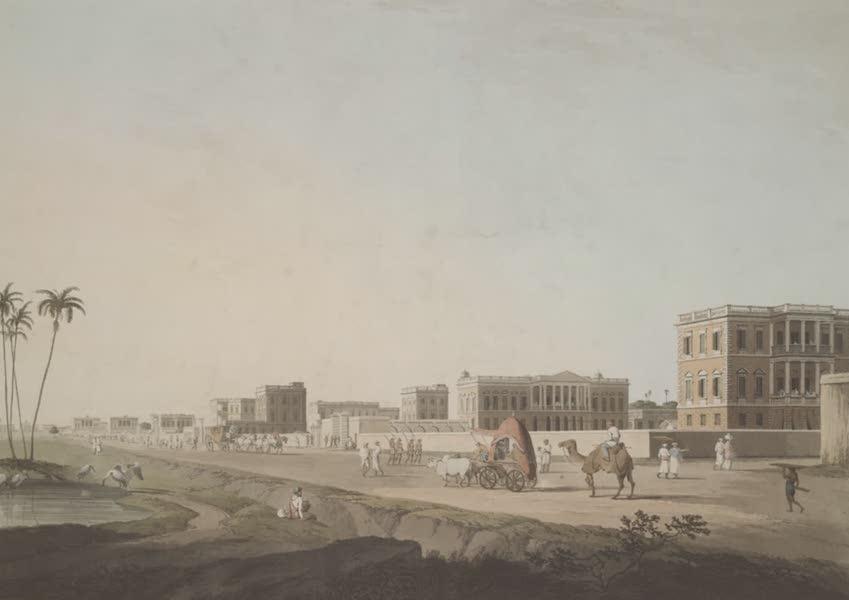 Oriental Scenery Vol. 2 - Part of Cheringhee, Calcutta (1797)