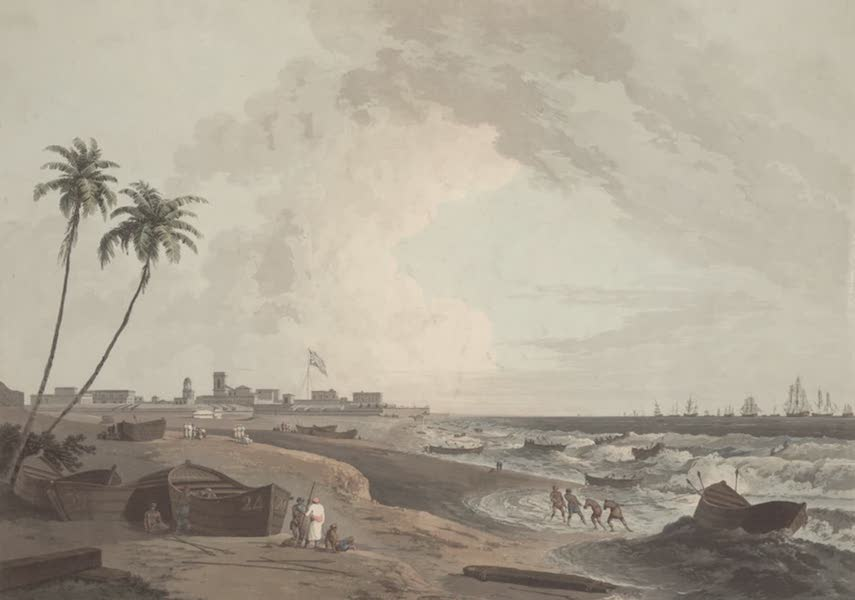 Oriental Scenery Vol. 2 - South East View of Fort St George, Madras (1797)