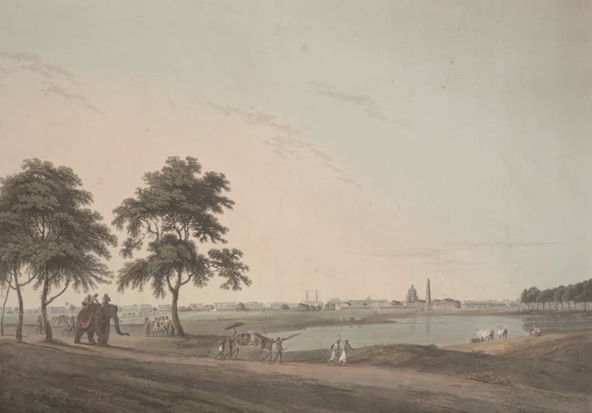 Oriental Scenery Vol. 2 - Part of the Black Town, Madras (1797)