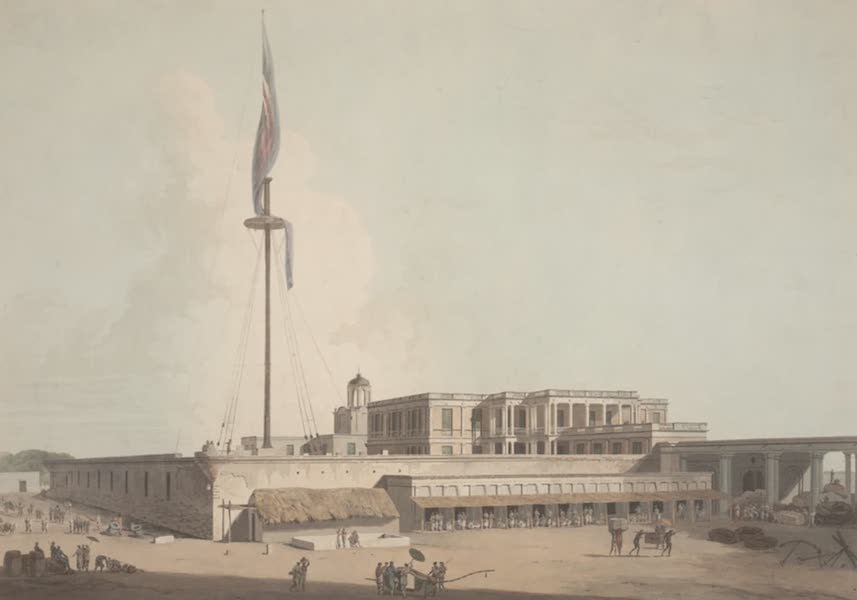 Oriental Scenery Vol. 2 - The Government House, Fort St George, Madras (1797)