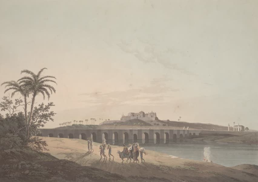 Oriental Scenery Vol. 2 - The Armenian Bridge, near St Thomas's Mount, Madras (1797)