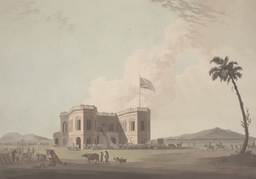 Oriental Scenery Vol. 2 - The Assembly Rooms on the Race Ground, near Madras (1797)