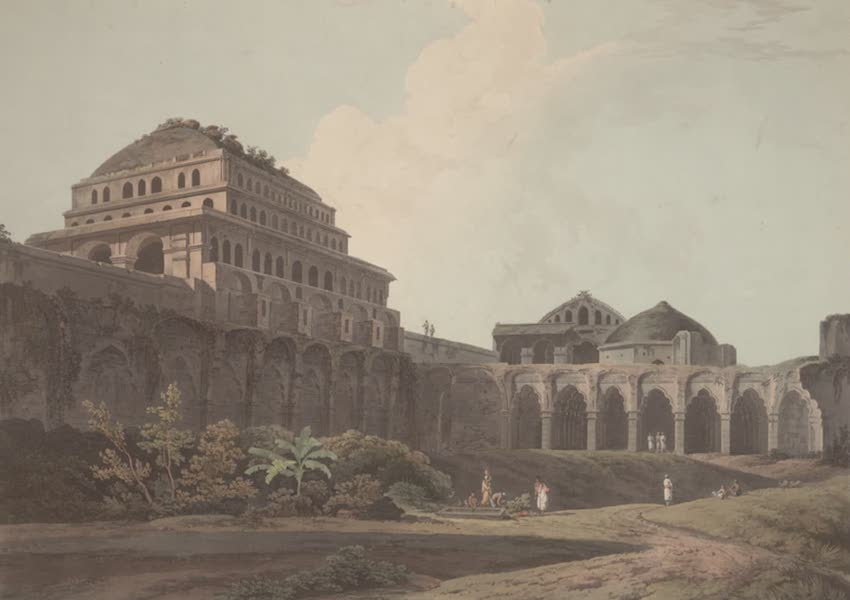 Oriental Scenery Vol. 2 - Part of the Palace, Madura (1797)
