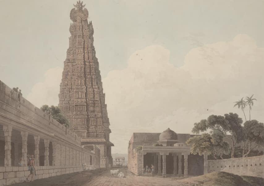 Oriental Scenery Vol. 2 - An Hindoo Temple, at Madura (1797)