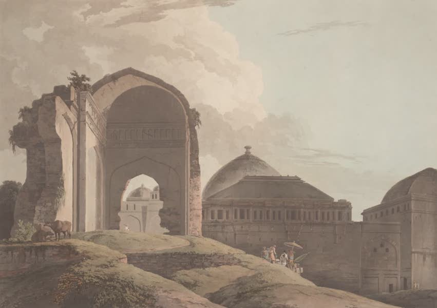 Oriental Scenery Vol. 2 - Ruins of the Palace, Madura (1797)