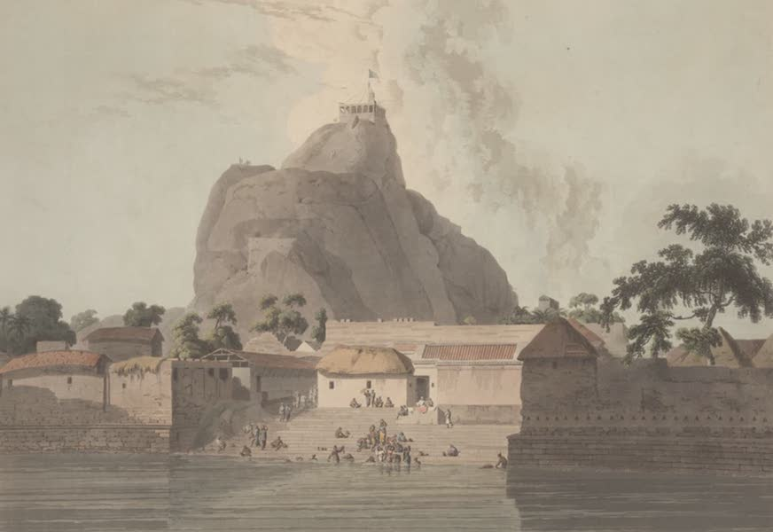 Oriental Scenery Vol. 2 - View in the Fort of Trichinopoly (1797)