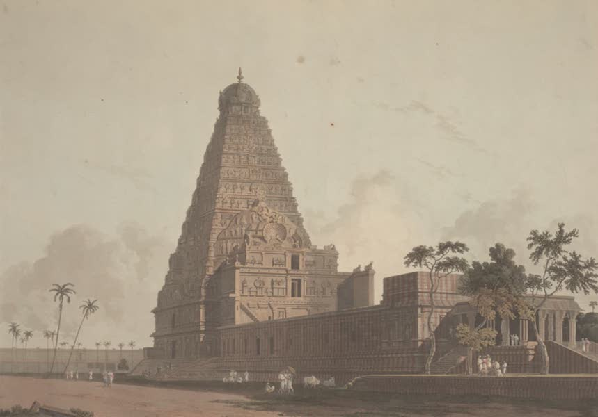 Oriental Scenery Vol. 2 - The Great Pagoda, Tanjore (1797)