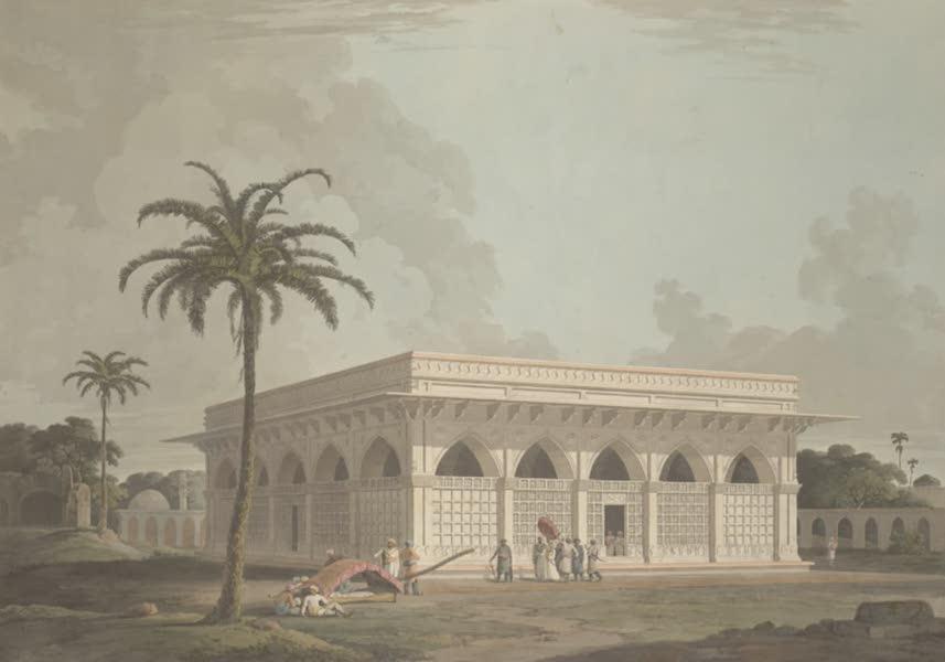 Oriental Scenery Vol. 3 - The Mausoleum of Amir Khusero, at the ancient city of Delhi (1802)
