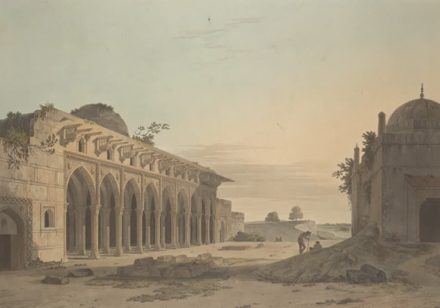 Oriental Scenery Vol. 3 - Ruins at Cannouge (1802)