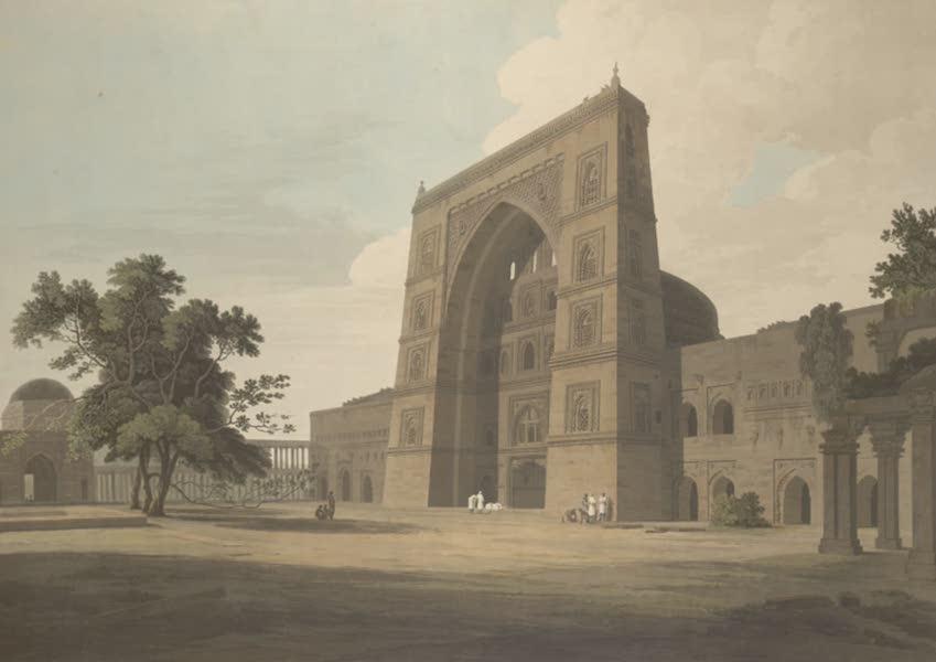 Oriental Scenery Vol. 3 - A Mosque at Juanpore (1802)