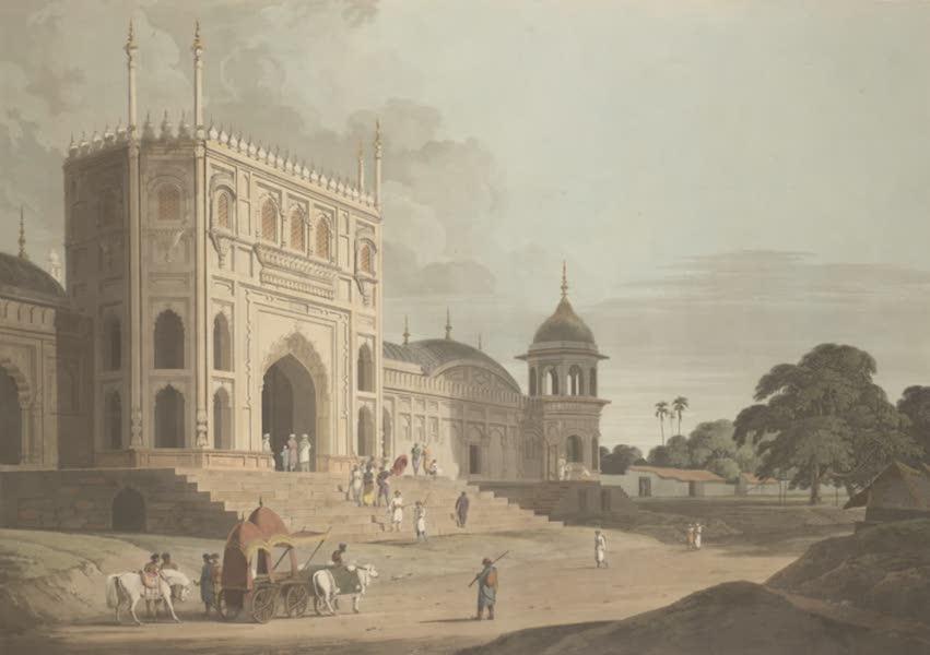 Oriental Scenery Vol. 3 - Gate of a Mosque built by Hafiz Ramut, Pillibeat (1802)