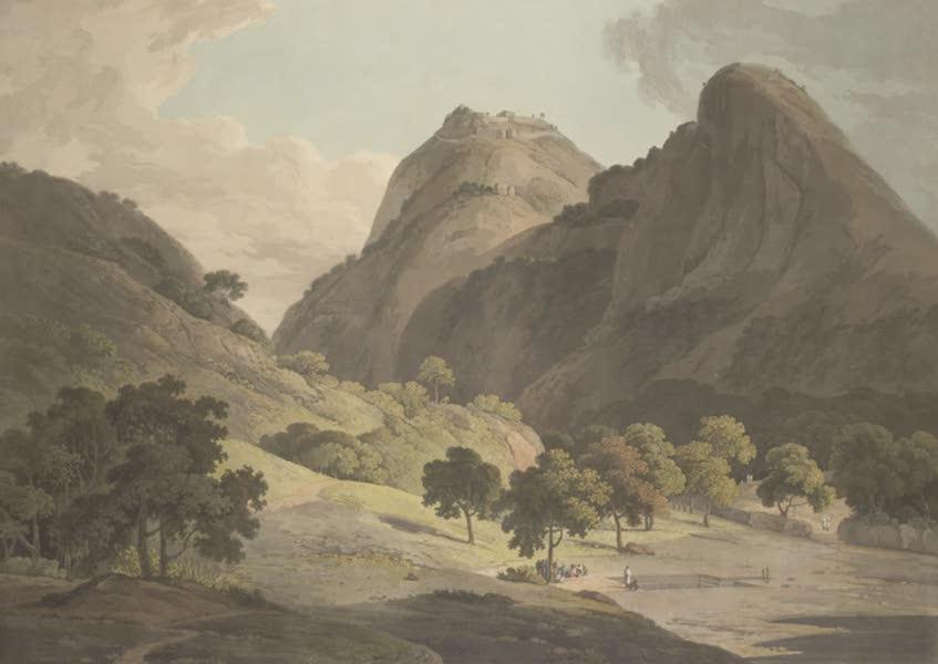 Oriental Scenery Vol. 3 - Jag Deo and Warrangur, hill forts in the Barramah'l (1802)