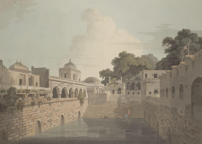 Oriental Scenery Vol. 3 - A Baolee near the old city of Delhi (1802)