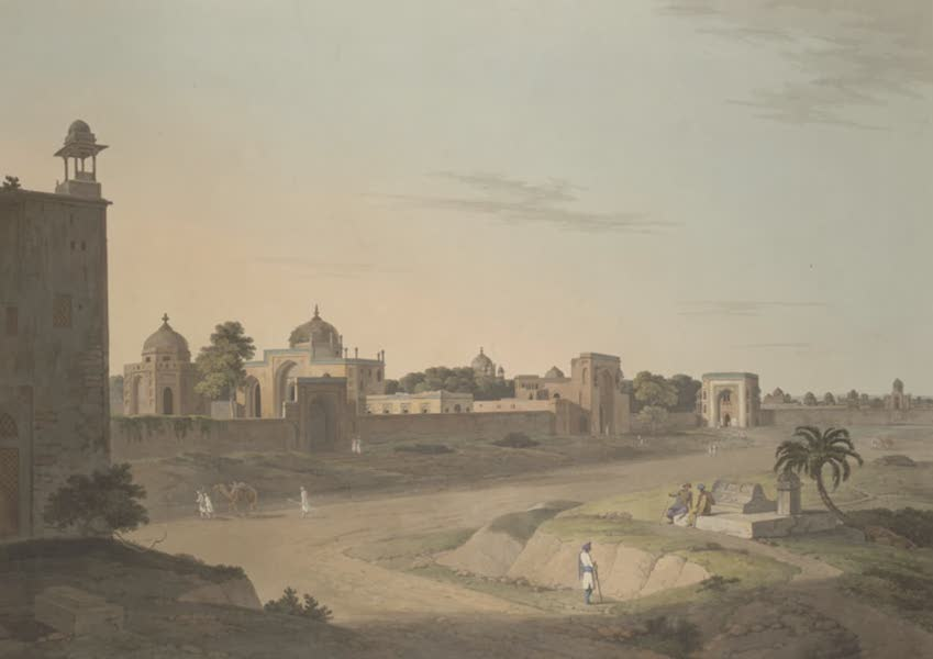 Oriental Scenery Vol. 3 - View at Delhi near the Mausoleum of Humaioon (1802)