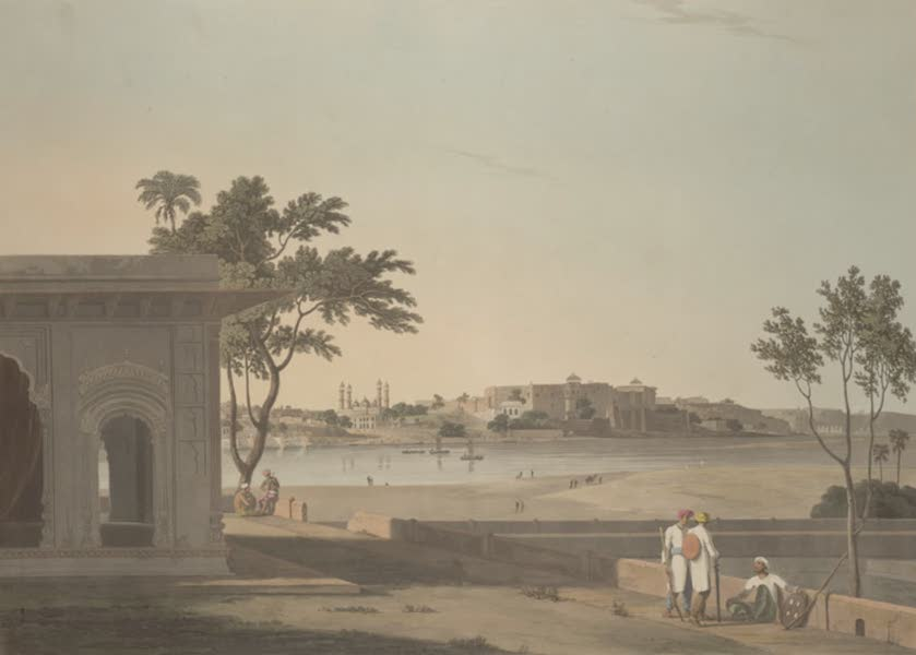 Oriental Scenery Vol. 3 - View of Mutura on the River Jumna (1802)