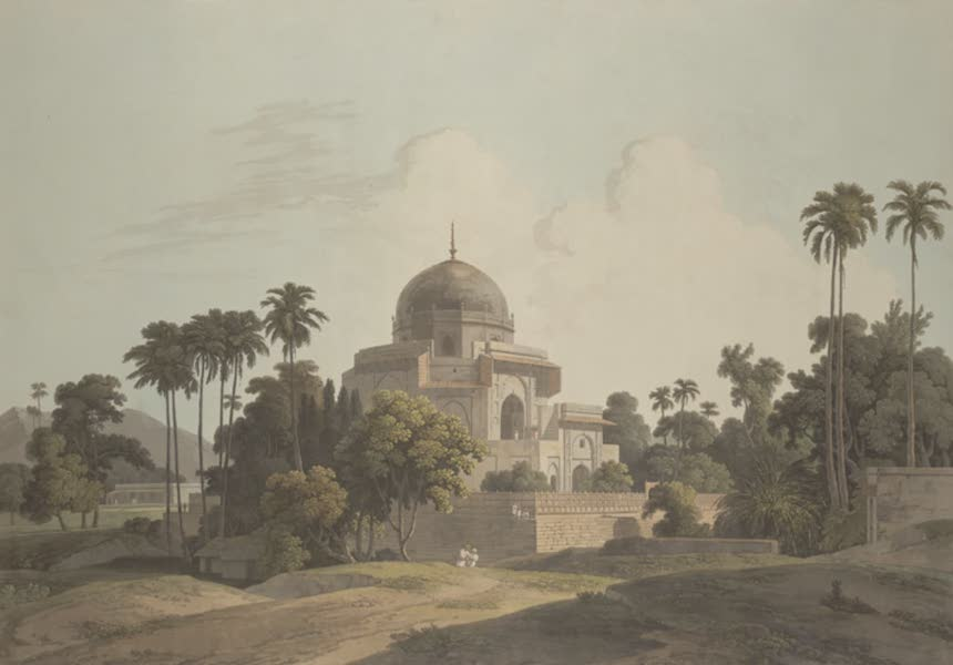 Oriental Scenery Vol. 3 - Mausoleum of Kausim Solemance at Chunar Gur (1802)