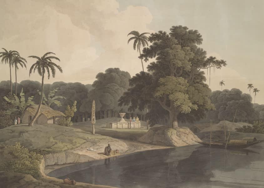 Oriental Scenery Vol. 4 - Near Bandell on the River Hoogly (1804)