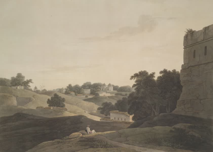 Oriental Scenery Vol. 4 - Cannoge on the River Ganges (1804)