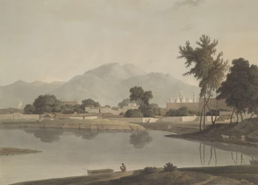 Oriental Scenery Vol. 4 - View at Nijeibabad, near the Coaduwar Gaut, Rohilcund (1804)