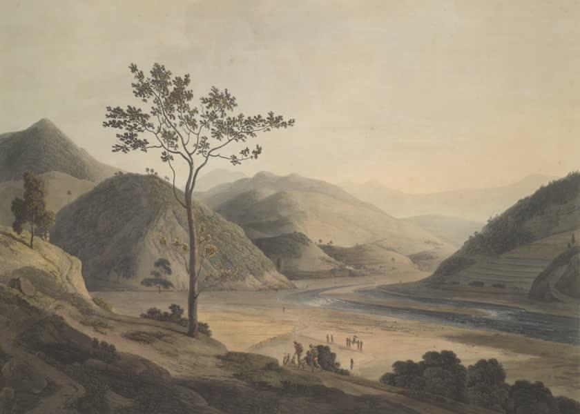 Oriental Scenery Vol. 4 - View near Daramundi, in the mountains of Sirinagur (1804)