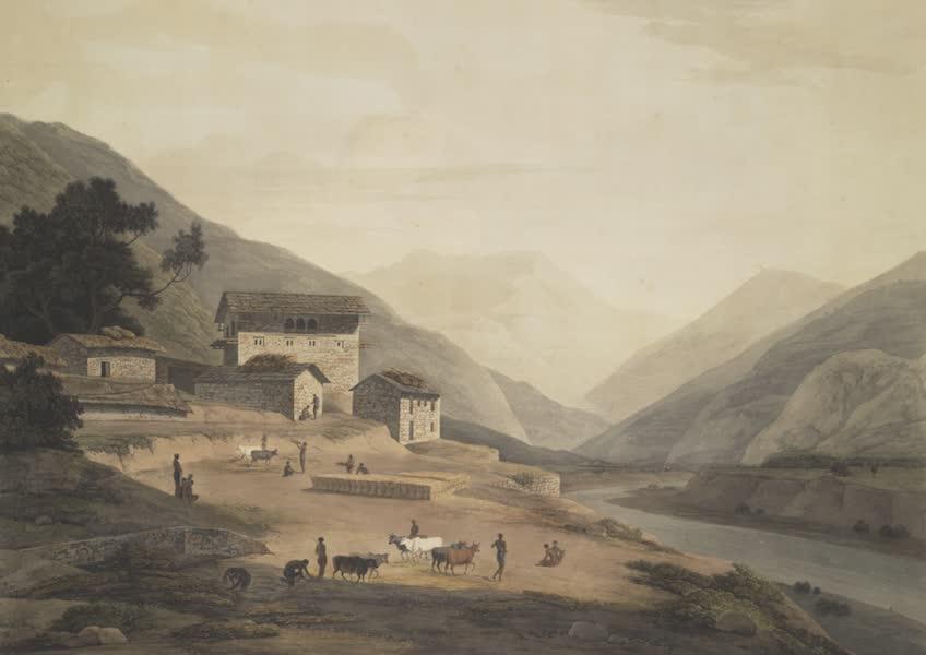 Oriental Scenery Vol. 4 - Buddell, opposite Bilkate in the mountains of Sirinagur (1804)