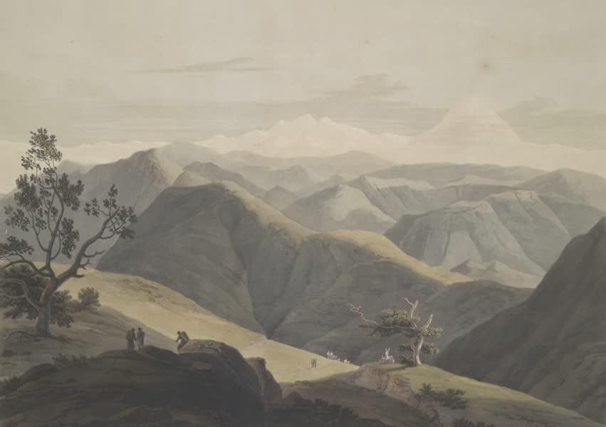 Oriental Scenery Vol. 4 - View taken between Natan & Taka Ca Munda, Sirinagur Mountains (1804)