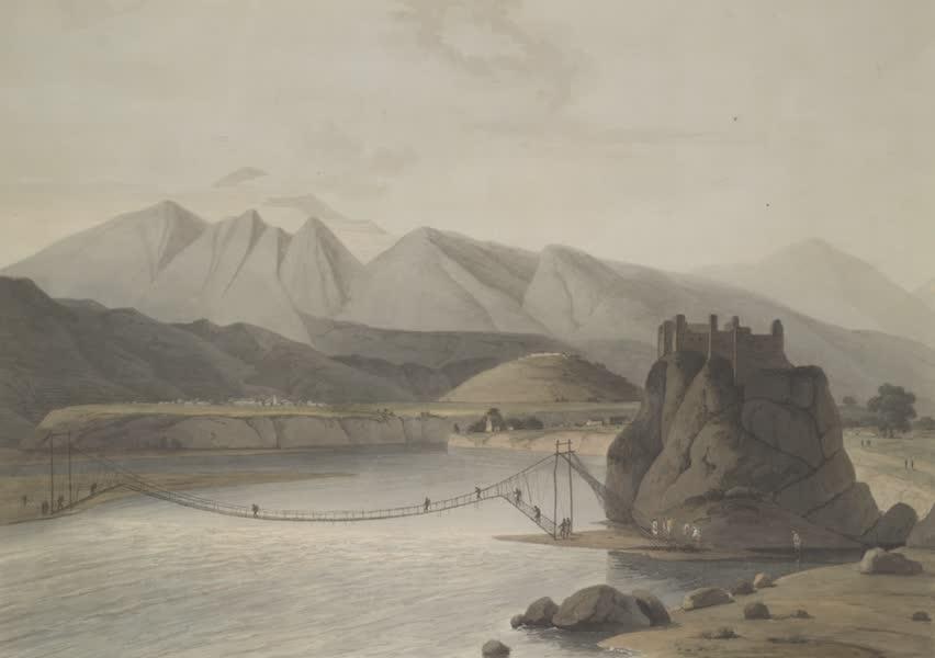 Oriental Scenery Vol. 4 - The rope bridge at Sirinagur (1804)