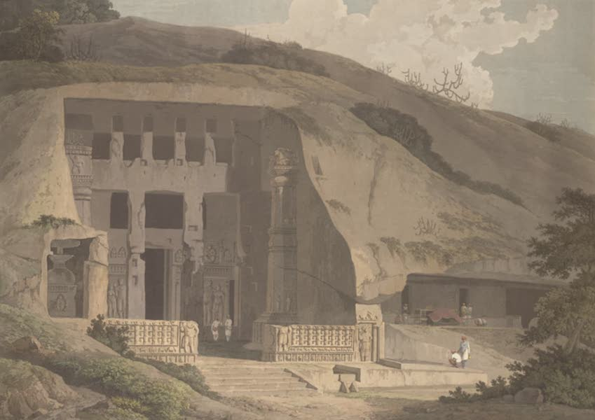 Oriental Scenery Vol. 5 - An excavated Temple on the Island of Salsette (1808)