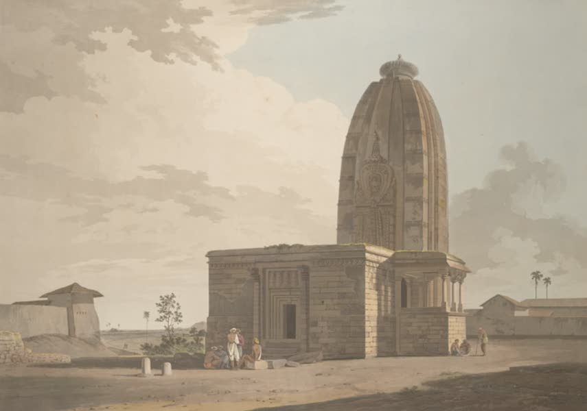 Oriental Scenery Vol. 5 - An Hindoo Temple at Deo in Bahar (1808)