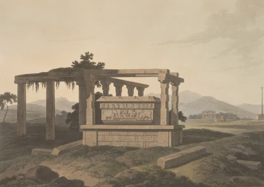 Oriental Scenery Vol. 5 - An antique reservoir near Colar, in the Mysore (1808)