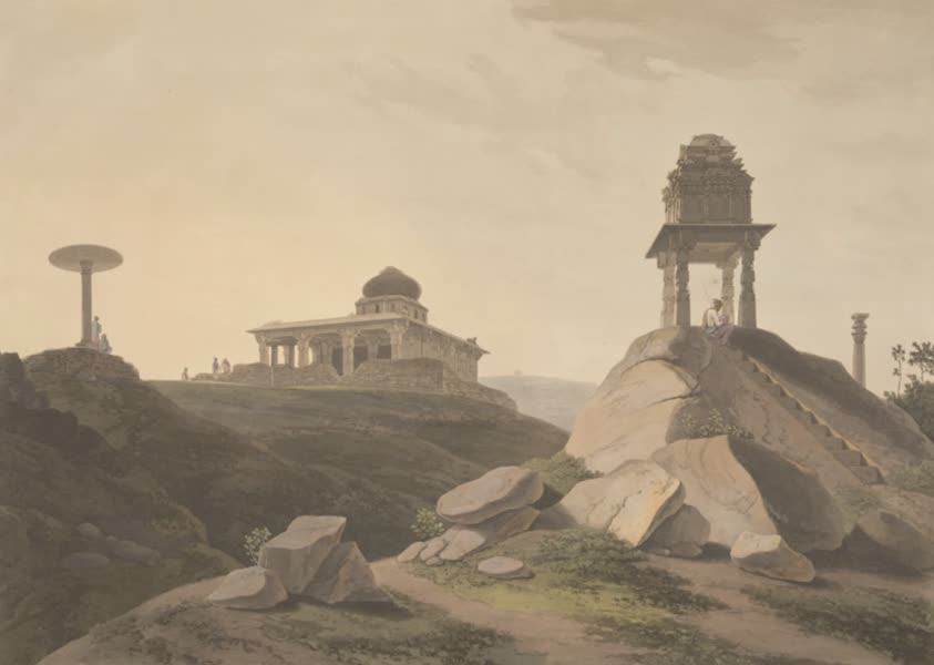 Oriental Scenery Vol. 5 - View near Bangalore (1808)