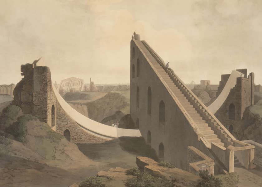 Oriental Scenery Vol. 5 - The Observatory at Delhi [I] (1808)