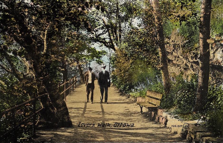 Ottawa and Vicinity - Lovers Walk (1900)