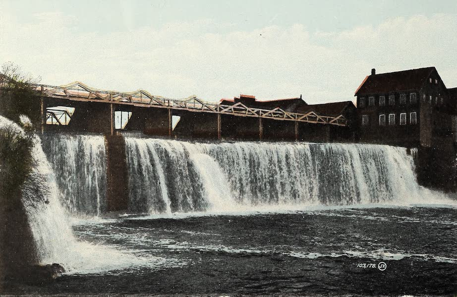 Ottawa and Vicinity - Rideau Falls (1900)