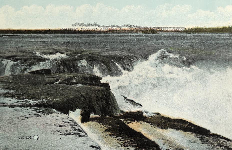 Ottawa and Vicinity - Chaudiere Falls and C.P.R. Bridge (1900)
