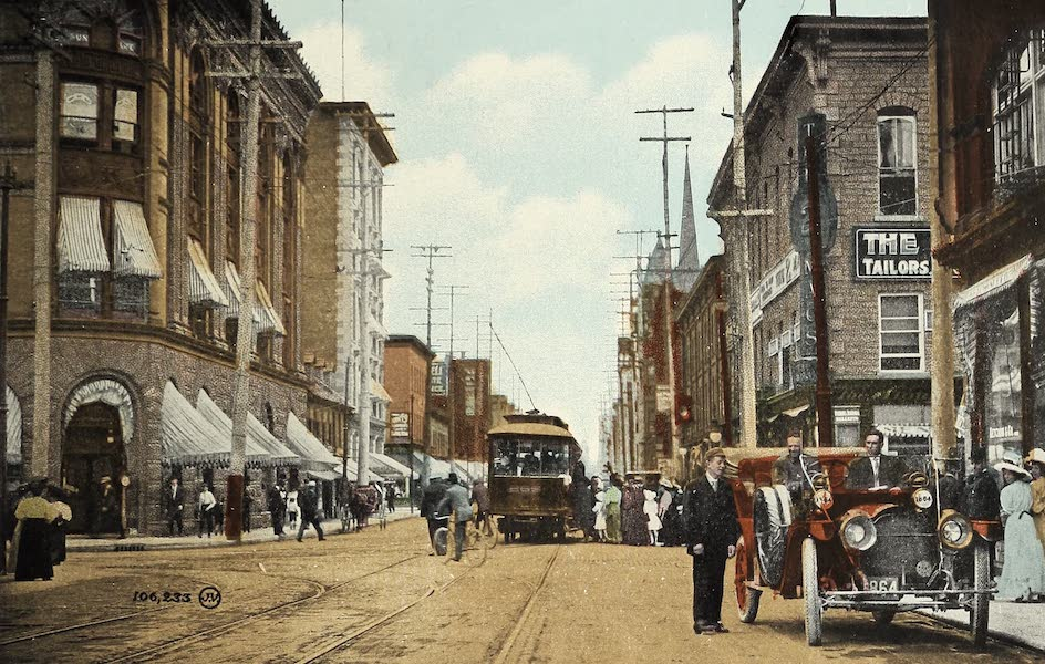 Ottawa and Vicinity - Bank Street (1900)