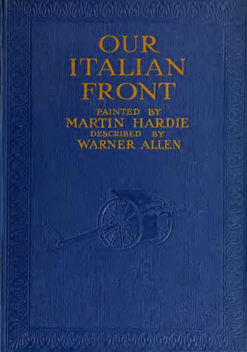 California Digital Library - Our Italian Front