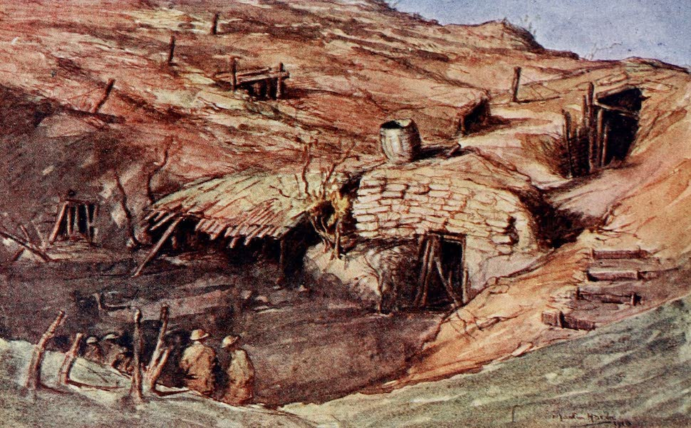 Our Italian Front - Cave Dwellings on the Montello (1920)