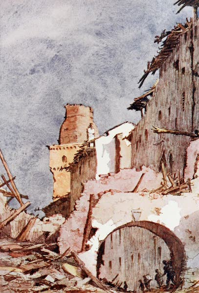 Our Italian Front - The Ruins of San Salvatore di Susegana (1920)