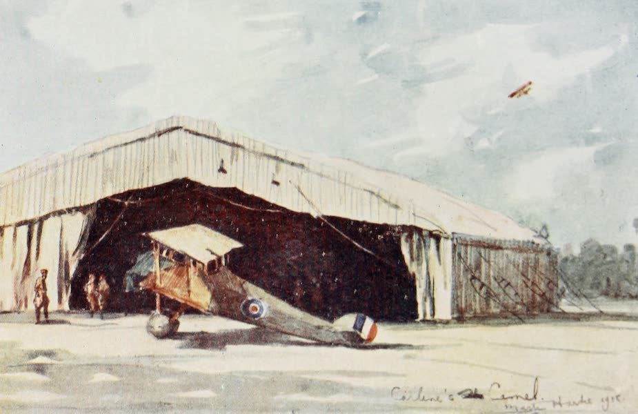 Our Italian Front - In the Aerodrome, Vicenza (1920)