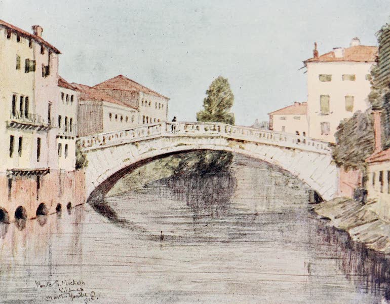 Our Italian Front - Ponte S. Miehele, Vicenza (1920)