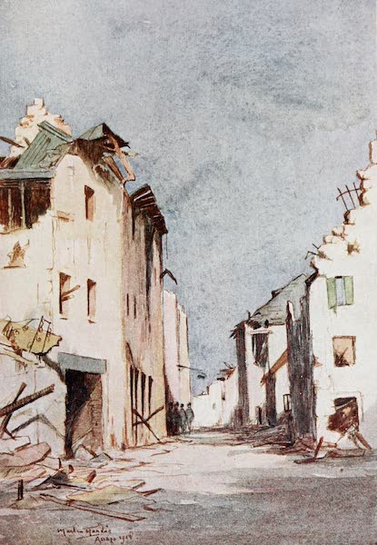 Our Italian Front - A Street in Asiago (1920)