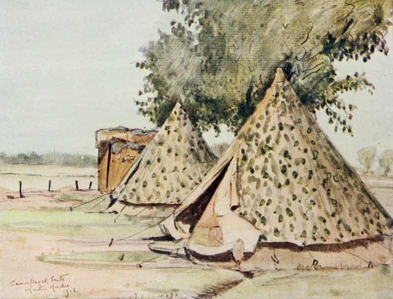 Our Italian Front - Camouflaged Tents (1920)