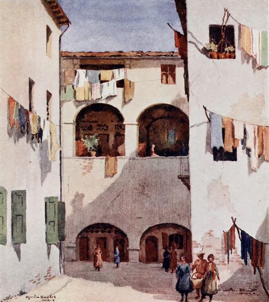 Our Italian Front - The Colonel's Washing : Via Cul di Sacco Petrone, Vicenza (1920)