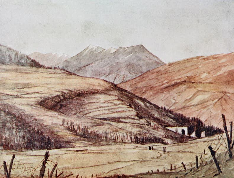 Our Italian Front - The Val d'Assa from the Edge of the Asiago Plateau (1920)