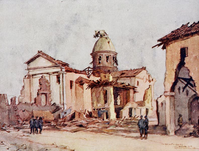 Our Italian Front - The Church, Spresiano (1920)
