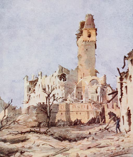 Our Italian Front - Ruins of the Castle, San Salvatore di Susegana (1920)